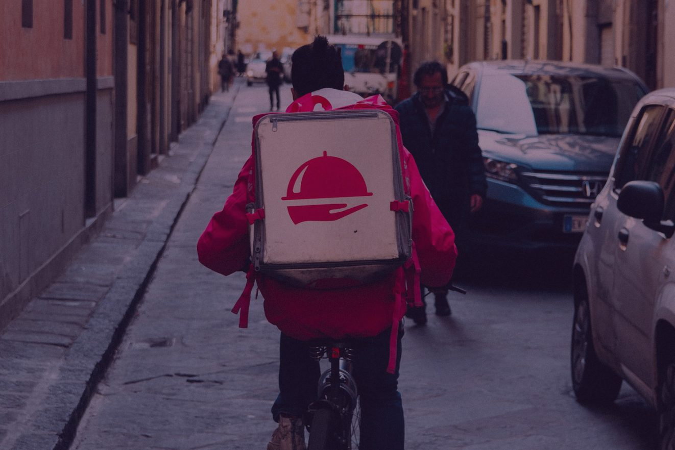 Deliveroo, Uber_on-demand-economy_Foto von KaiPilger on pixaby