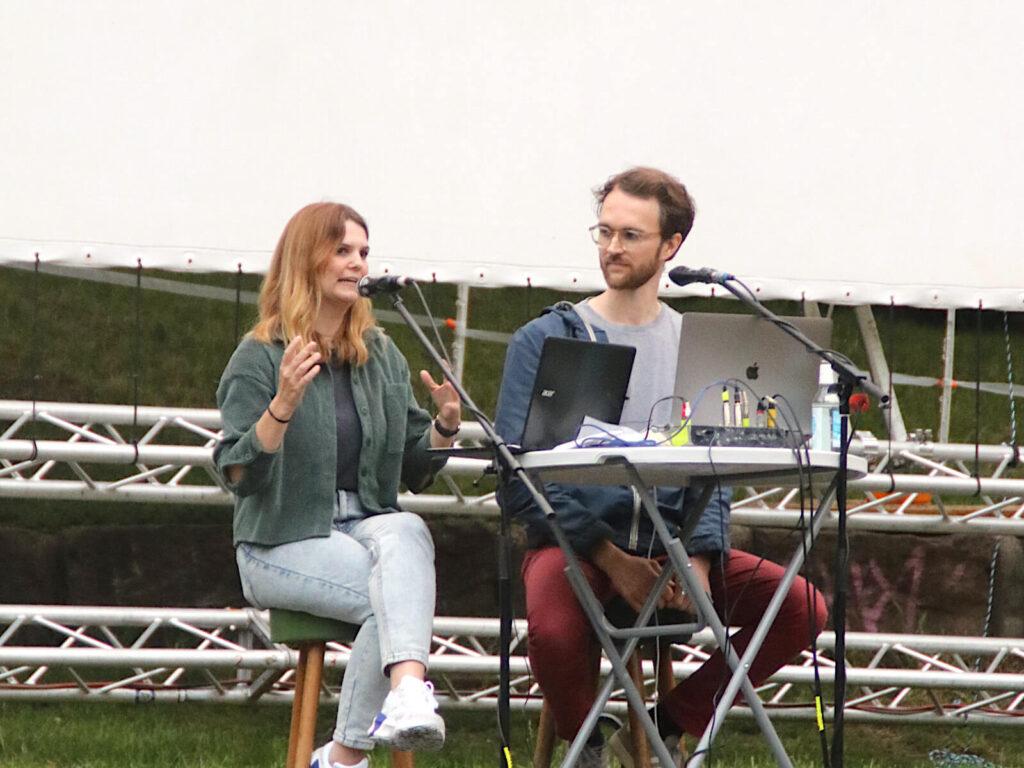Tanja Hille und Vincent Venus sprechen live ihren Y Politik-Podcast ein. Thema: Junge Kandidaten bei der Bundestagswahl 2021.